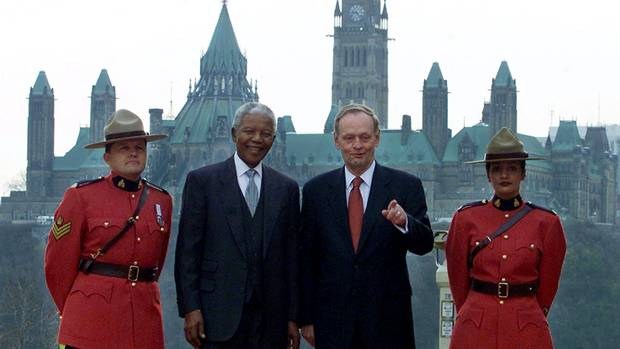 Canadian Prime Minister Jean Chretien