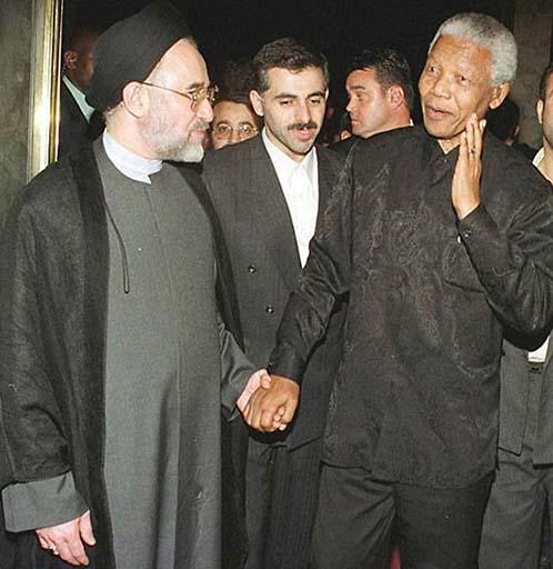 Iranian president Muhammed Kanthami