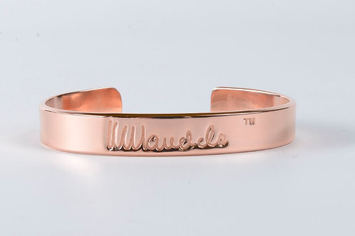 Mandela Copper Bangle