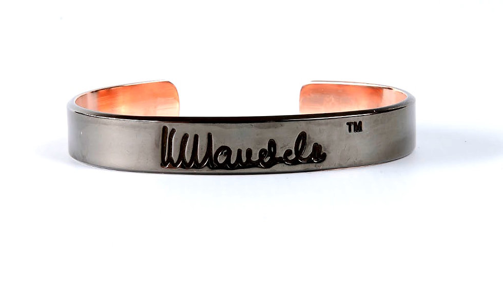 Sort kobber Mandela Bangle