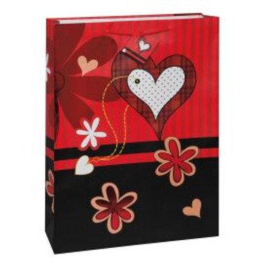 Bag Gift Jumbo Flower Heart