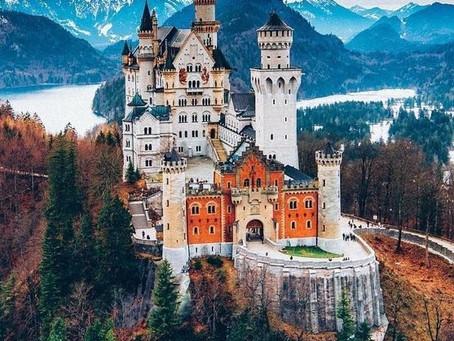 Места Германии для красивых фото.