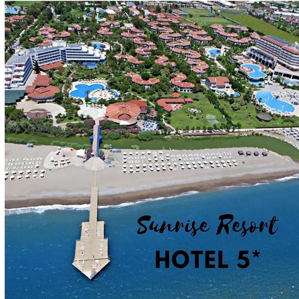 Sunrise Resort Hotel 5* Турция, Сиде