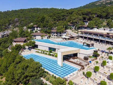 Медовый месяц в Турции.