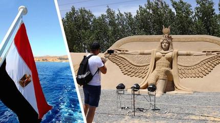 В Хургаде для туристов открыли песчаный город