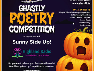 Ghastly Poetry Competition for students