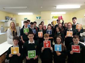 Eco-Unesco visit for TY Development Education