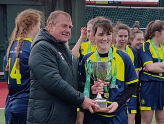 Moville Senior Girls All-Ireland Champions