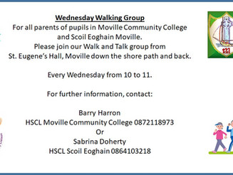 Moville CC Walking Group