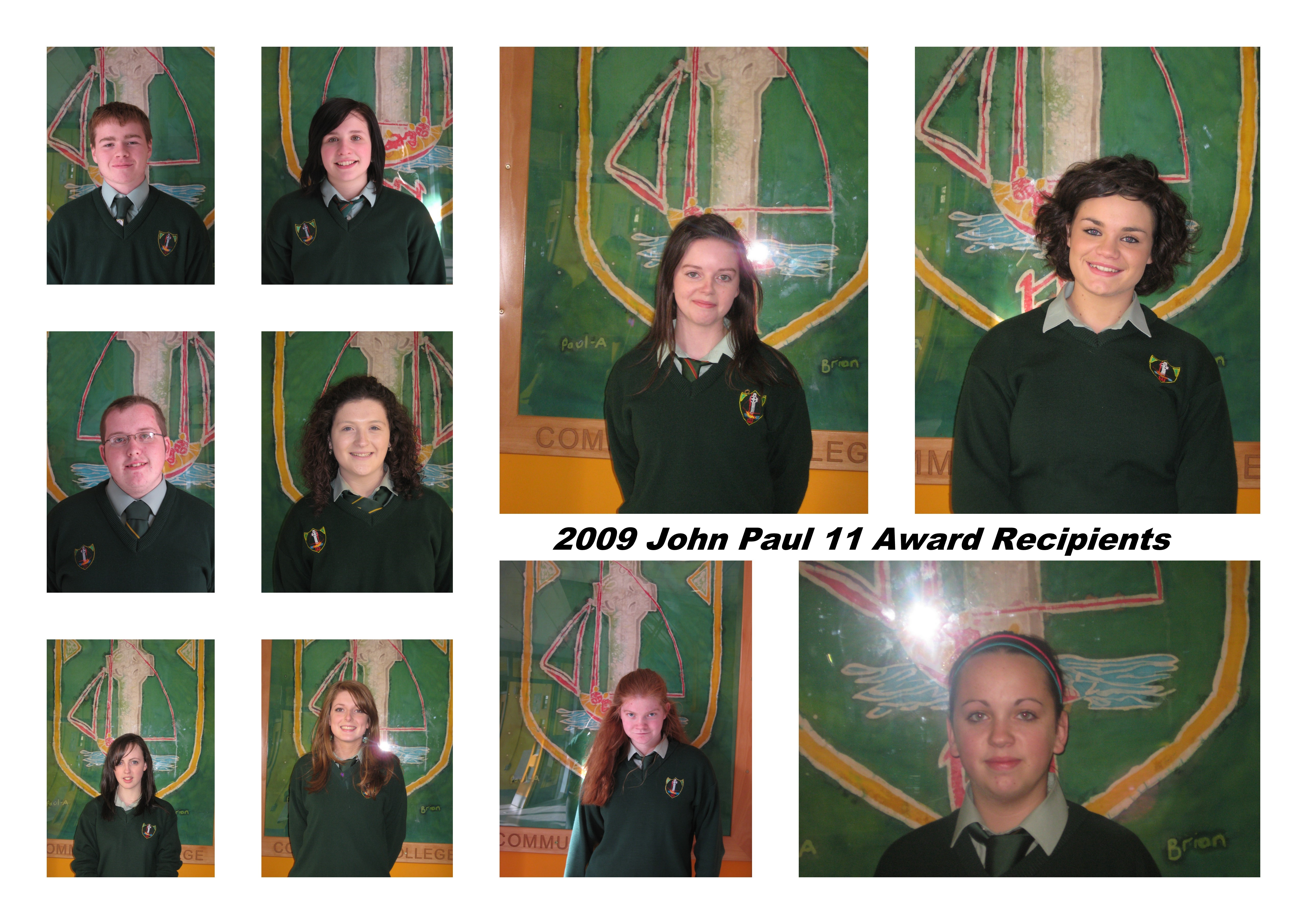 MCC Students for John Paul 11 Awards
