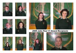 MCC Students for John Paul 11 Awards
