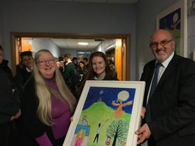 Eiléan Ní Chuilleanáin visits Moville Community College