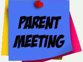 Parent's Association Meeting