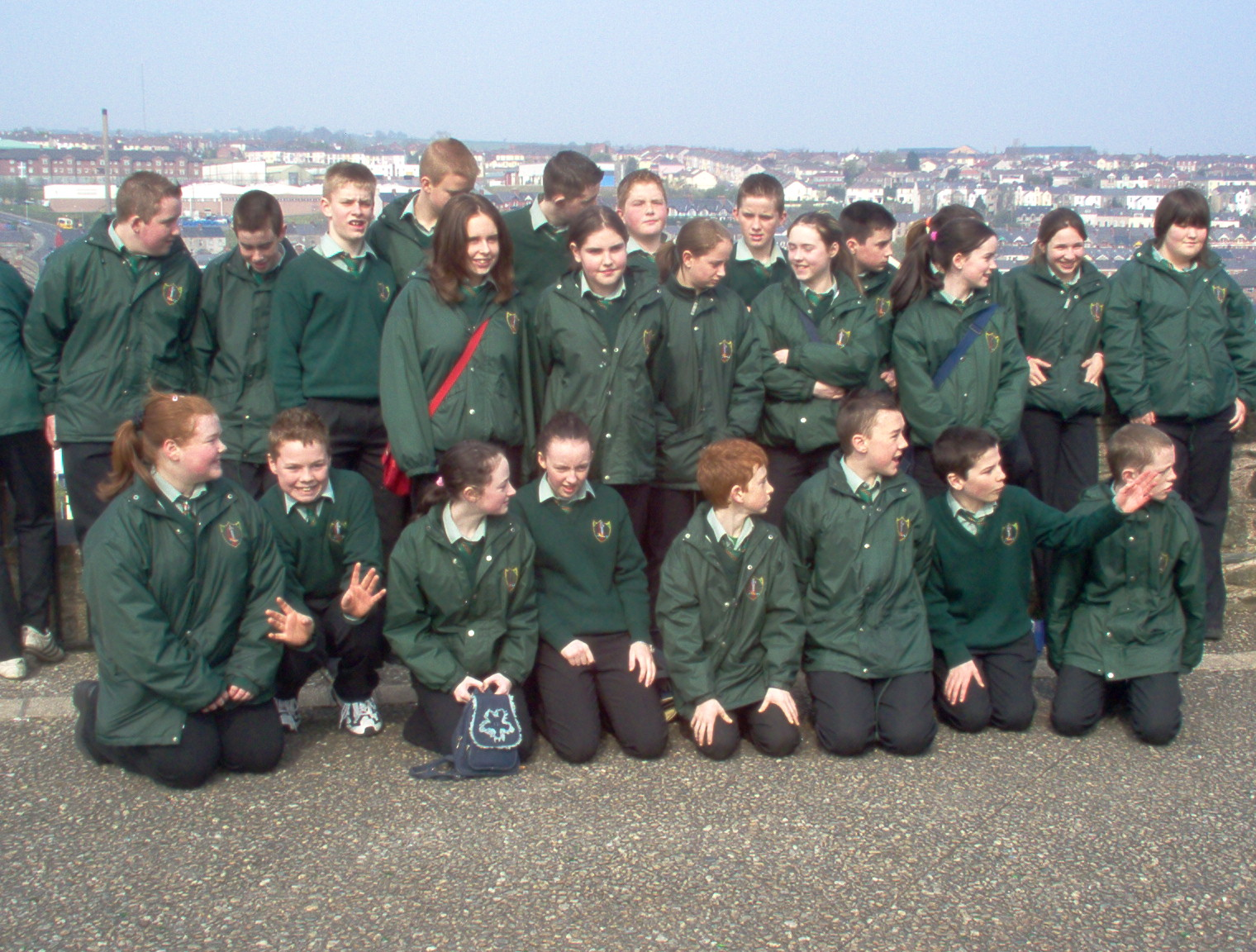 On The Derry Walls-May 2005