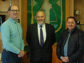 Brian McDermott and Neven Maguire visit MCC