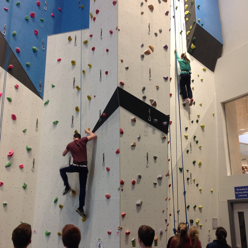 Foyle Arena Climbing Wall
