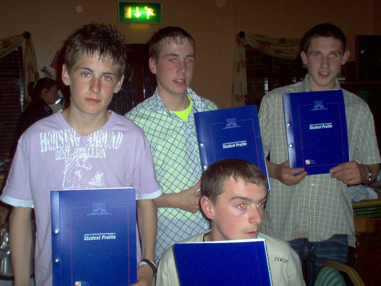 The Boys with their JCSP Acheivement Awards May 2005