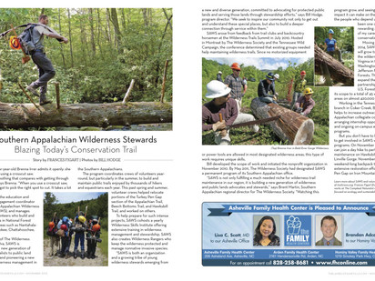 SAWS featured in The Laurel of Asheville