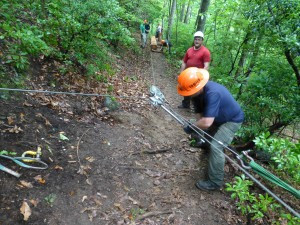 Advanced Trail Construction Courses Offered