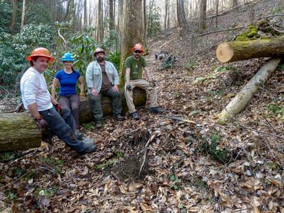 WILD Crew Logs Out Benton MacKaye