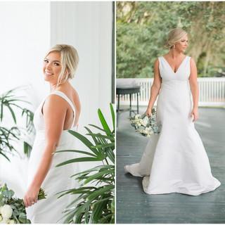 Tallahassee wedding flowers White-Navy-W