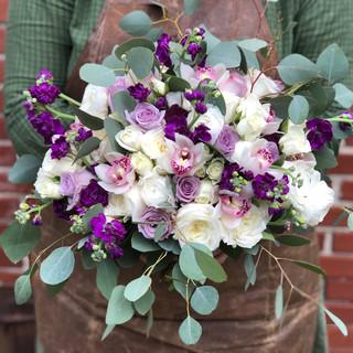 Purple & Ivory