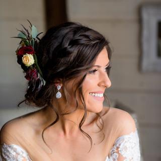 bride hair Charlotte_Fristoe_Photography