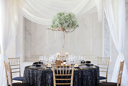 Black and gold wedding details photographed by Tallahassee Wedding Photographer Inga Finch