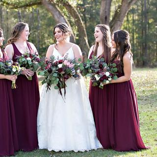 bridesmaids bouquet tallahassee wedding