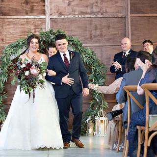 tallahasee wedding florist bride and gro