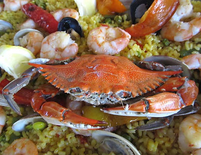 sea food real paella spanish tallahassee wedding catering