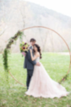 moon arch metal tallahassee wedding flor