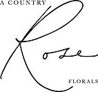 a country rose tallahassee florist logo.