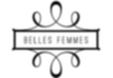 belles femmes logo tallahassee wedding and make up artist