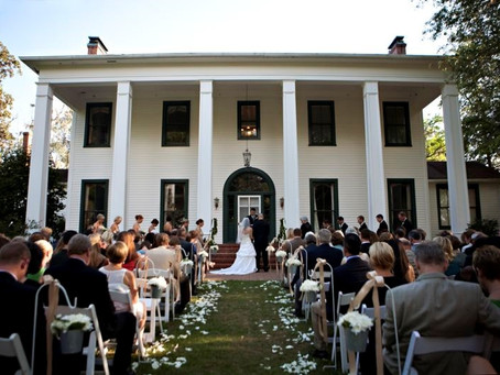 Best Wedding Venues in Tallahassee: Southwood House & Cottages