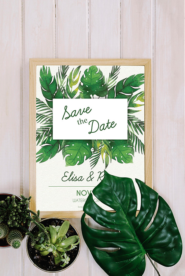 Poppie Studios Designs Save The Date