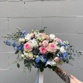 Blue & Blush