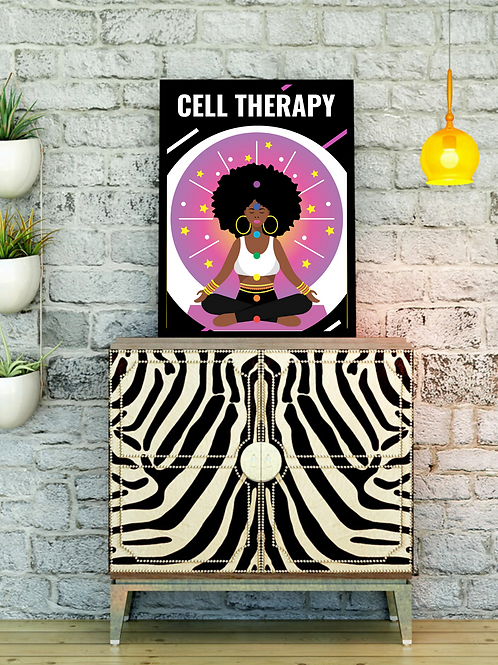 Cell Therapy Poster (select size for pricing)