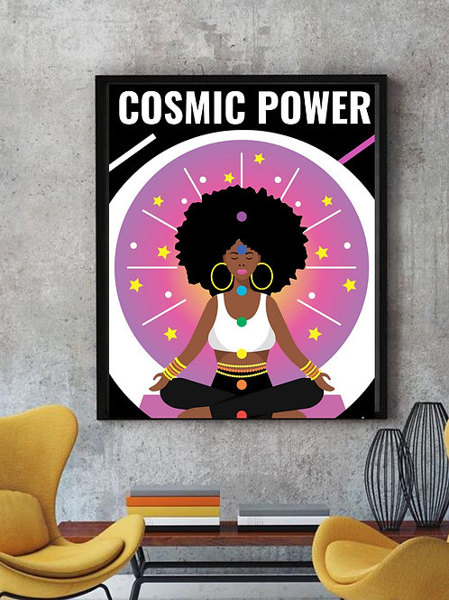 Cosmic Power Poster (select size for pricing)