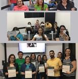 Segunda turma do curso de Fisioterapia Ocular da Faculdade Inspirar Curitiba/PR.