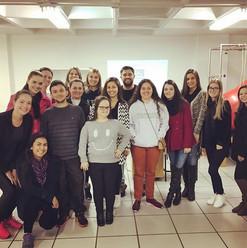 Manuseios e Técnicas na semana acadêmica da Fisioterapia da Faculdade CNEC, Santo Ângelo/RS.