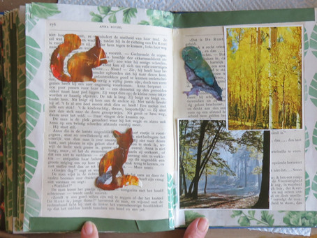 Leave through the leaf – and leaves book (2) (SOLD VERKOCHT )