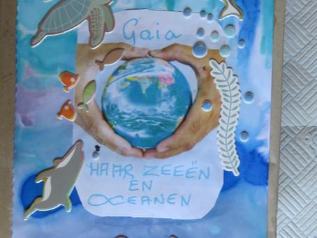 Gaia, Zeeën en Oceanen