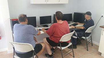 Computer Training for all Local Men