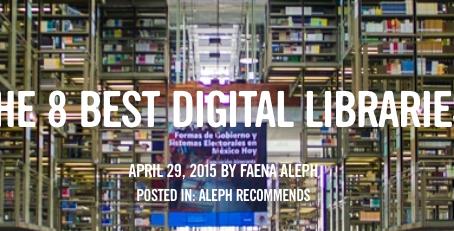 Using Digital Online Libraries