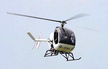 Schweitzer 300 training helicopter