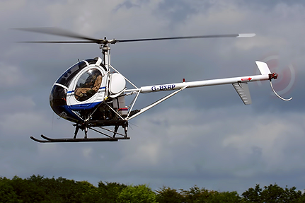 Training helicopter