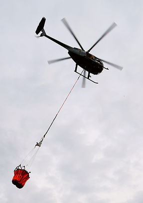 G-BIOA firefighting helicopter