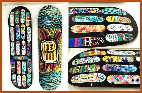 Pimp My Deck Australia - Custom Snowboards - Wall Art Decks - SA