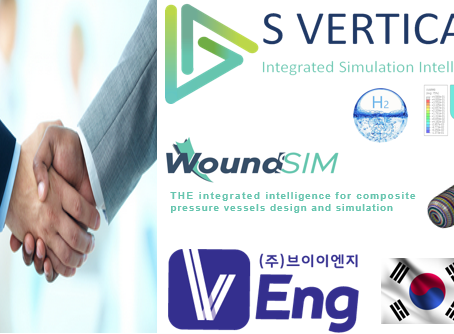 For the hydrogen century in Korea, S VERTICAL and VEng signed a ditribution agreement for WoundSim.